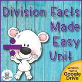 Division Basic Facts Mastery Unit Distance Learning