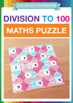Division Facts Math Puzzle