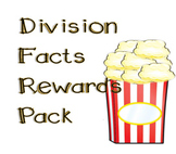 Division Facts Minute Tests and Rewards Pack Bundle