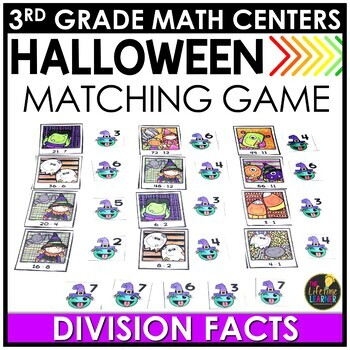 Division Facts October Math Center