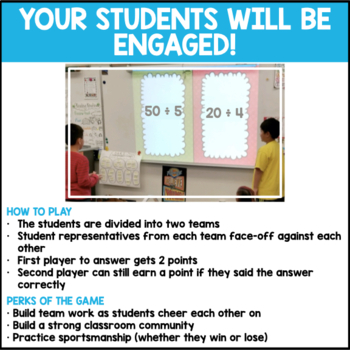 Division Facts Quotients to 12 (End of Year Edition)