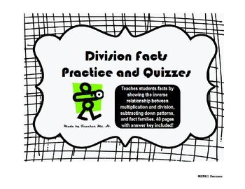 Division Facts Practice and Quizzes