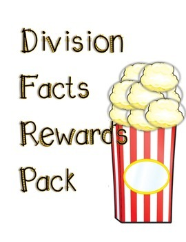 Division Facts Reward Pack