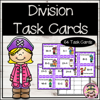 Division Facts Scoot (Up to Division by 9's)