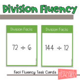 Division Fact Fluency Task Cards