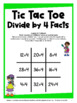Division Free: Division Facts Tic Tac Toe Math Games