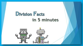 Division Facts in Five Minutes