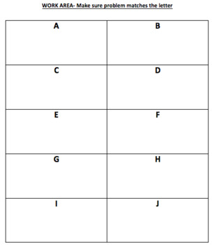 Division Facts to 144 Memory Match Game (Division Facts 1-12)