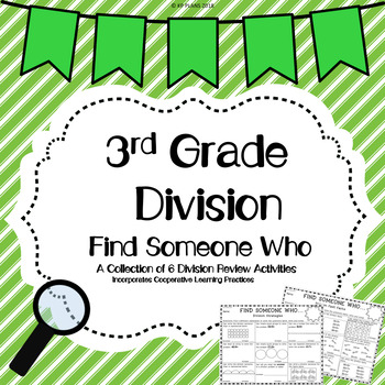 Division Find Someone Who Activity