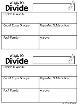 Division Five Different Ways