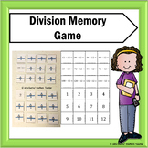 Division Flash Card Memory Game