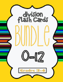 Division Flash Cards 0-12