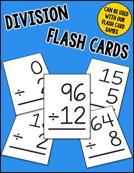 picture relating to Division Flash Cards Printable named Office Flash Playing cards