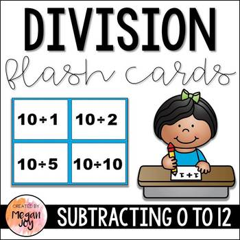 Division Facts Flash Cards