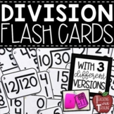 Division Flash Cards {Printable Flashcards with Answers on the Back}