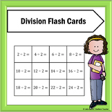 Division Flash Cards for Facts 1-12