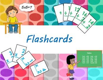 Division Flashcards (0-12)