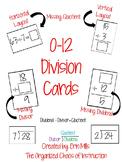 UPDATED! HUGE Bundle of Division Flashcards