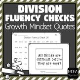 Division Fluency Checks