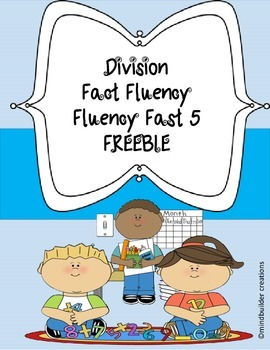 Division Fluency Fast 5