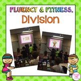Division Math Facts Fluency & Fitness Brain Breaks