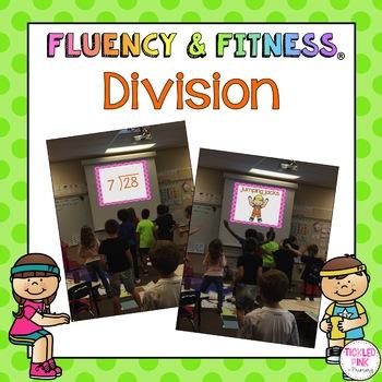 Division Math Facts Fluency & Fitness Brain Breaks Bundle
