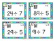 Division Fluency Flashcards with QR Codes-Set E