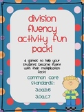 Division Fluency Fun Pack (Common Core Math Centers)