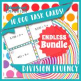 Division Fluency Task Cards ENDLESS Bundle: Division Practice