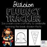 Division Fluency Tracker Craftivity