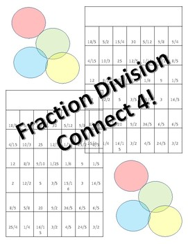 Division Fraction Connect 4!