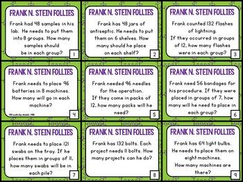 Division - Frank N. Stein Follies -  3.OA.3