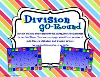 Division GO-Round SMARTboard Game