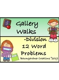 Division Gallery Walk-12 Word Problems