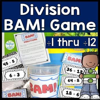 Division Game - Division BAM Game - Zap, Kaboom!