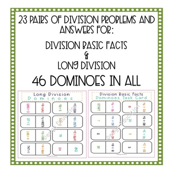 Division Game Dominoes