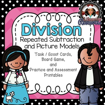Division Game Repeated Subtraction and Picture Models and