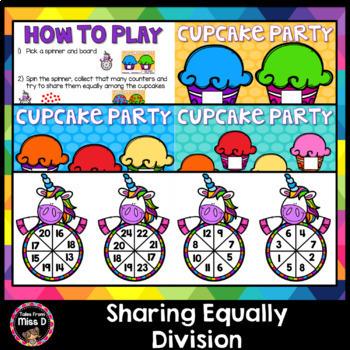 Division Game - Sharing Equally