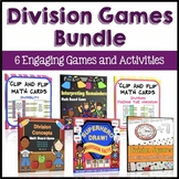 Division Centers Bundle: 3rd Grade Division Games and Activities