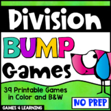 Division Bump Games: 39 Division Games for Division Facts Fluency
