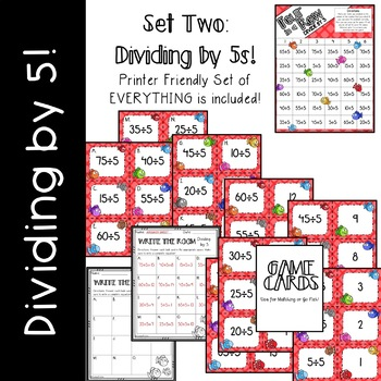 Division Games/Activities (Divide by 2, 5, & 10)
