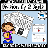 5th Grade Math Mystery Two Digit Division with Remainders Games