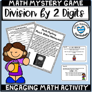 Division With Remainder Games Math Mystery