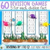 Division Games for each Division Fact