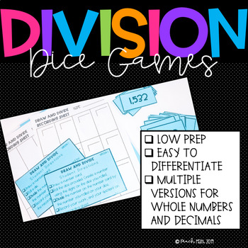 Division Games for 5th Grade