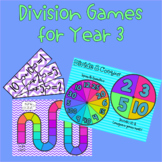 Division Games for Year 3