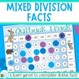 Division Games for Mixed Division Facts Practice