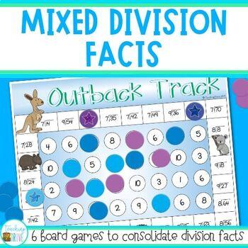 Division Fact Practice Teaching Resources | Teachers Pay Teachers