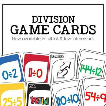 Division Gotcha: A Math Fact Fluency Game for the Classroom