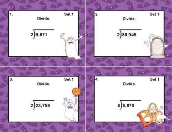 Division- Grade 4-CCSS.MATH.CONTENT.4.NBT.B.6-Halloween